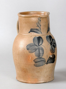 Baltimore, Maryland stoneware pitcher, 19th c., im