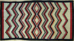 Navajo regional rug, early 20th c., 95