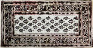 Hamadan carpet, 6'8