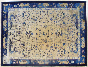 Chinese carpet, early 20th c., 11'10