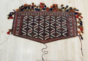 Turkoman asmalyk, 4'4
