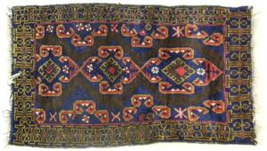 Oriental mat, 4'2