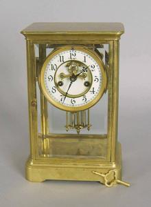 Waterbury regulator clock, 10 1/2