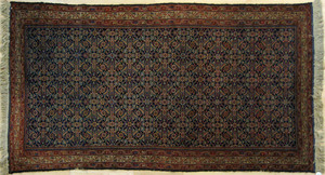 Malayer carpet, ca. 1930, in a herati pattern, 9'