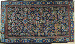 Persian carpet, ca. 1920, in a herati pattern, 5'6