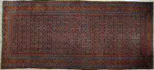 Malayer carpet, ca. 1930, in a herati pattern, 16'