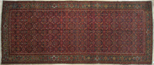 Malayer carpet, ca. 1940, in a herati pattern, 16'