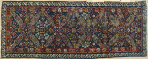 Seychour carpet, ca. 1900, with San Christopher cr