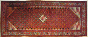 Malayer carpet, a. 1950, in a herati pattern, 16'5