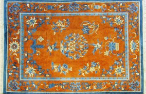 Chinese carpet, mid 20th c., 12' x 8'8