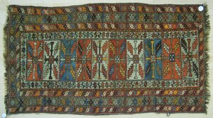 Beluch throw rug, 6'4