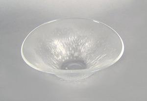 Orrefors glass bowl, 3 3/4