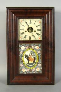 Empire mantle clock, mid 19th c., 28 3/4