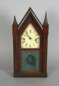 Ansonia steeple clock, 19th c., 20