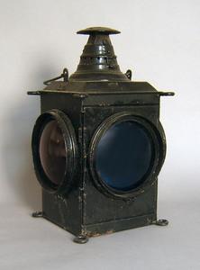 Arlington railroad lantern, 21