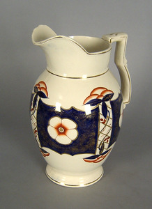 Gaudy Welsh pitcher, 13 1/4