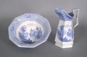 Ironstone Chateau pitcher and basin, 12