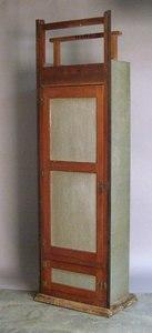 Pine and tin pie safe, ca. 1900, 81