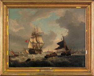 George Webster (British, 1797-1864), oil on canvas