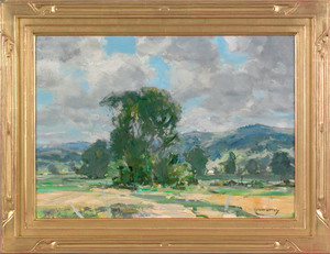 Jay Hall Connaway (American, 1893-1970), oil on bo