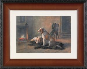 Hugo Anton Fisher (American, 1854-1916), watercolo