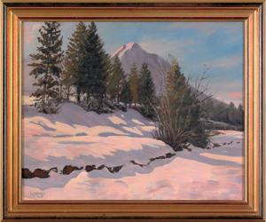 Walter Koeniger (American, 1881-1943), oil on canv