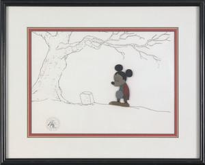 Disney production cel from Mickey's Christmas Caro