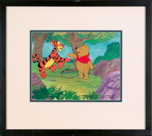 Disney production cel from Winnie the Pooh, 8 1/4