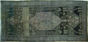 Caucasian throw rug, 10' 4