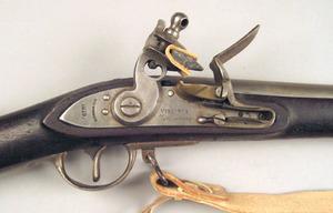 Virginia Mfg. flintlock rifle, .75 ca