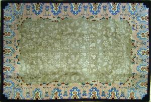 Chinese throw rug, ca. 1950, 8'9