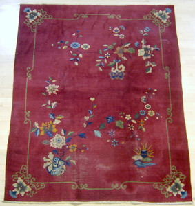 Two Chinese rugs, 5'8