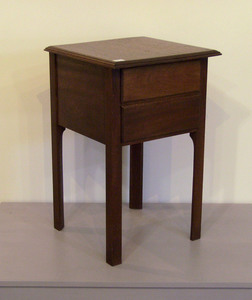 Two mahogany work stands, 20th c., 31