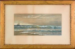 Edmund Darch Lewis (American, 1835-1910), watercol