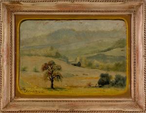 Louis Michel Eilshemius (American, 1864-1941), oil