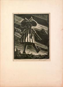 Samuel Joseph Brown (American, 1907-1994), woodcut