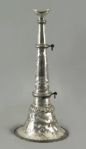 Philadelphia silver presentation fire horn by R &