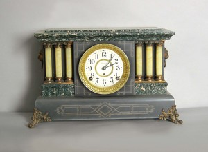 Seth Thomas Victorian mantle clock, 11
