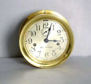 Seth Thomas ship's clock, 7
