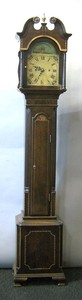 Federal style diminutive tall case clock, late 19t