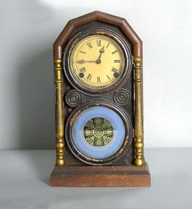 E. Ingraham & Co. Empire shelf clock, ca. 1860, 16
