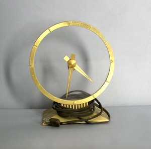 Jefferson golden hour electric clock, 9