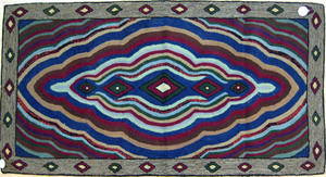 Three hooked rugs, early/mid 20th c.