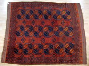 Roomsize Bohkara rug, ca. 1940, 10'9