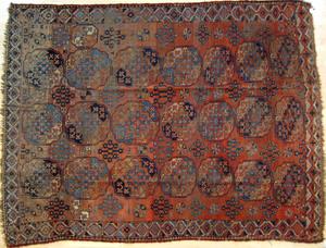 Roomsize Bohkara, early 20th c., 10'4