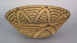Pima coiled basket, ca. 1910, 7