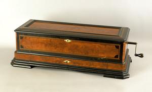 Mermod Freres Ideal Soprano cylinder music box, la