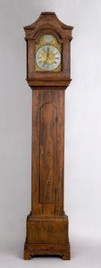 Chester, New Hampshire painted pine tall case cloc