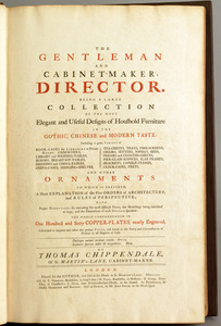 Thomas Chippendale, The Gentleman and Cabinet Make