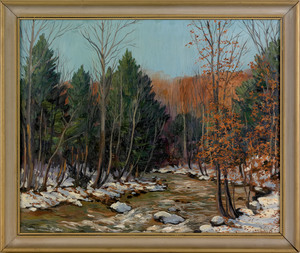 Harry M. Book(American, 1904-1971), oil on canvasa